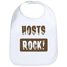 Hosts Rocks Bib