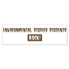 Environmental Studies Student Bumper Bumper Sticker