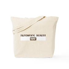 Environmental Engineers Rocks Tote Bag
