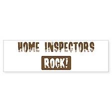 Home Inspectors Rocks Bumper Bumper Sticker