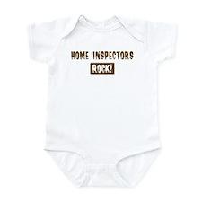 Home Inspectors Rocks Onesie
