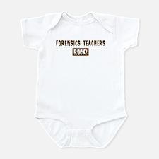 Forensics Teachers Rocks Infant Bodysuit