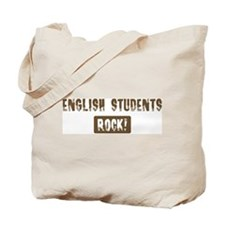 English Students Rocks Tote Bag