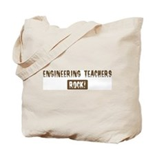 Engineering Teachers Rocks Tote Bag