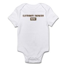 Electronics Engineers Rocks Infant Bodysuit