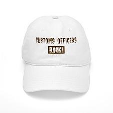 Customs Officers Rocks Baseball Cap