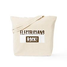 Electricians Rocks Tote Bag