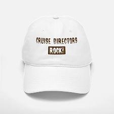Cruise Directors Rocks Baseball Baseball Cap