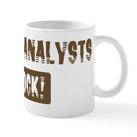 Credit Analysts Rocks Mug