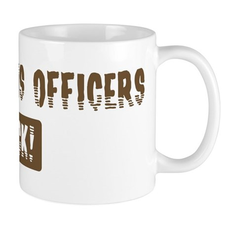 Corrections Officers Rocks Mug