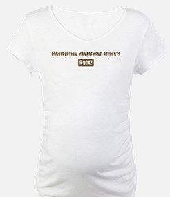 Construction Management Stude Shirt