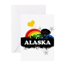 Sweet Fruity Alaska Greeting Card