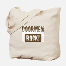 Doormen Rocks Tote Bag
