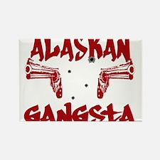 Alaskan Gangsta Rectangle Magnet
