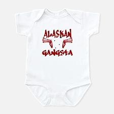 Alaskan Gangsta Infant Bodysuit