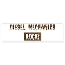 Diesel Mechanics Rocks Bumper Bumper Sticker