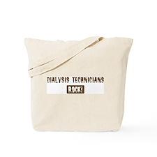 Dialysis Technicians Rocks Tote Bag