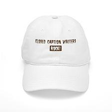 Closed Baseball Caption Writers Rocks Baseball Cap