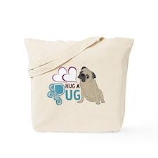 HUG A PUG Tote Bag