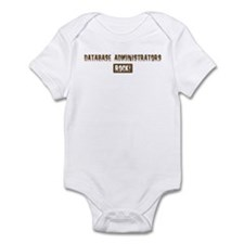 Database Administrators Rocks Infant Bodysuit