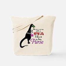 Ninja Rex Tote Bag