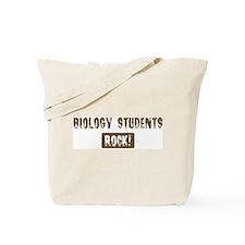 Biology Students Rocks Tote Bag