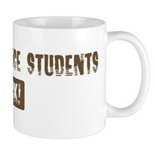Animal Science Students Rocks Small Mug