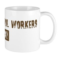 Animal Control Workers Rocks Mug