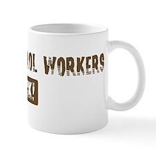 Animal Control Workers Rocks Small Mug