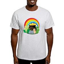 Yorkie St Patricks Day T-Shirt
