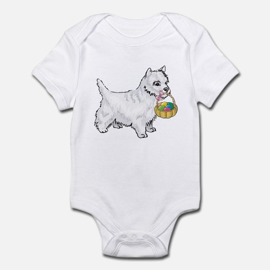 Westie Easter Infant Bodysuit