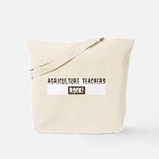 Agriculture Teachers Rocks Tote Bag