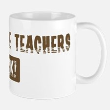 Agriculture Teachers Rocks Mug