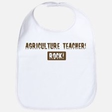 Agriculture Teachers Rocks Bib