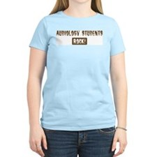 Audiology Students Rocks T-Shirt