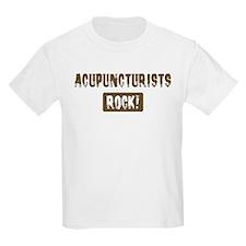 Acupuncturists Rocks T-Shirt
