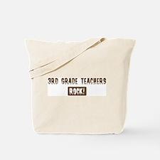 3rd Grade Teachers Rocks Tote Bag