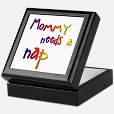Mommy Needs a Nap Keepsake Box