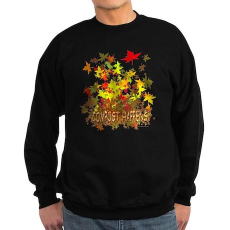 Compost Happens Sweatshirt (dark)