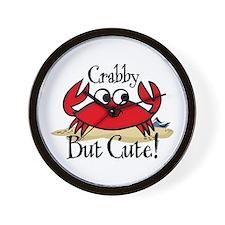 Cute Crabby Wall Clock