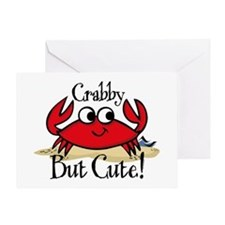 Cute Crabby Greeting Card
