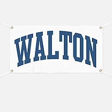 Walton Collegiate Style Name Banner