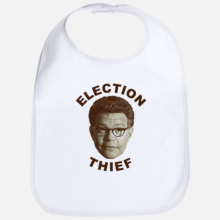 Al Franken Election Thief Bib
