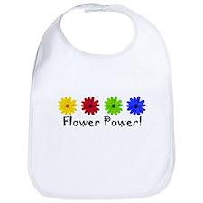 Flower Power Daisy Bib