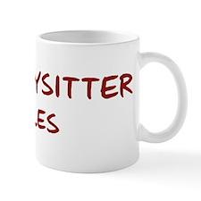 Babysitter Rules Mug