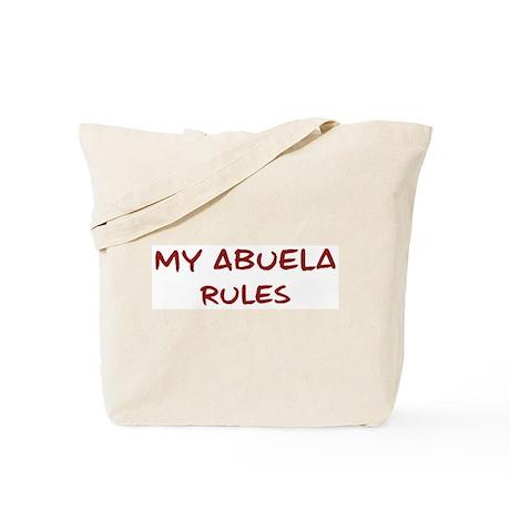 Abuela Rules Tote Bag