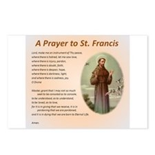 A Prayer to St. Francis Postcards (Package of 8)