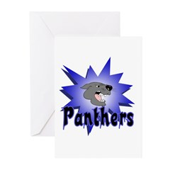 Panthers Greeting Cards (Pk of 10)