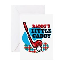 Daddy's Little Caddy Greeting Card