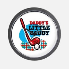 Daddy's Little Caddy Wall Clock